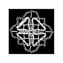 Birgittakrona  motiv   3,5x3,5