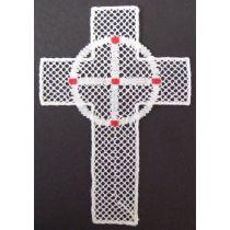 Kors med Birgittakrona, bokmärke
