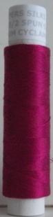 210/2 silke spunnet, cyklamen