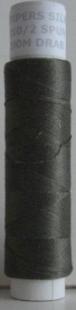 210/2 silke spunnet, drab