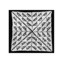 Domino helknypplad  12,5X12,5